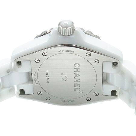 Chanel(����) H0968 J12 33MM ����Ʈ ȭ��Ʈ ����� ���� ������ �ð� [�?����]