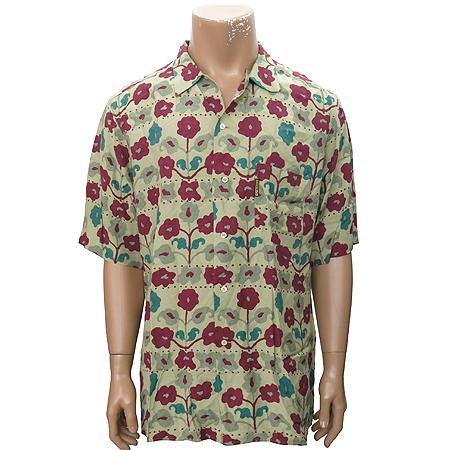 Armani JEANS(아르마니 진스) 플라워패턴 반팔 셔츠