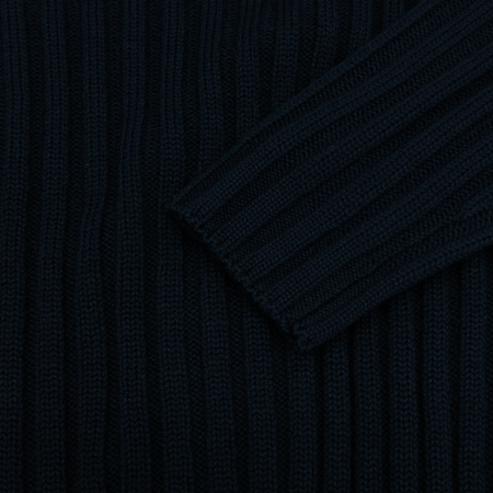 Versace(베르사체) 네이비컬러 니트 이미지3 - 고이비토 중고명품
