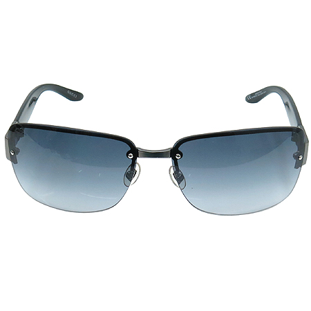 Gucci(구찌) GG1909 티타늄 로고 반무테 선글라스