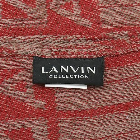 LANVIN(랑방) 100% 울 이니셜 머플러