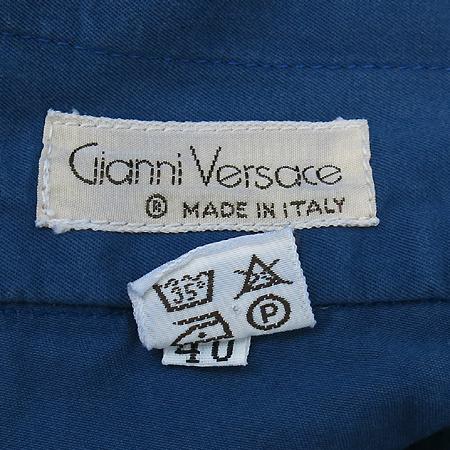 Versace(베르사체) 블루컬러 면 바지 이미지4 - 고이비토 중고명품