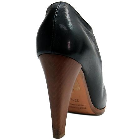 Jilsander(질샌더) 블랙 컬러 레더 여성용 구두