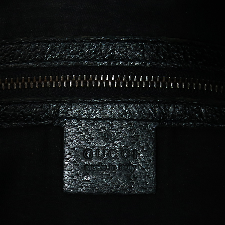 Gucci(구찌) 144157 GG로고 쟈가드 블랙 금장 징 장식 숄더백