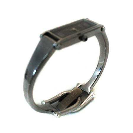 Gucci(구찌) 1500L 그레이 다이얼 은장 팔찌형 시계 [명동매장]