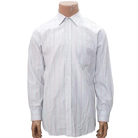 Hermes(에르메스) 스카이블루&연핑크컬러 스트라이프 셔츠
