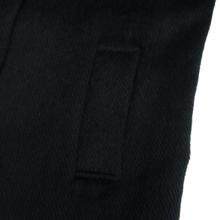 LYNN(린) 블랙컬러 알파카혼방 코트