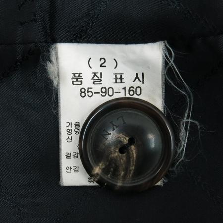 LYNN(린) 블랙컬러 알파카혼방 코트 이미지5 - 고이비토 중고명품
