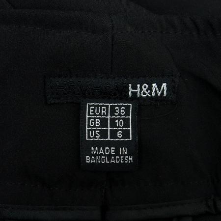H&M(에이치엔앰) 블랙컬러 바지