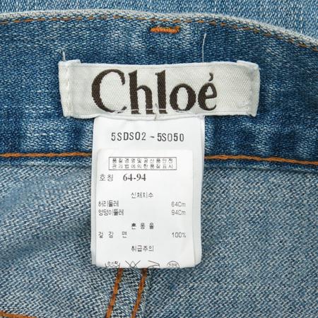 Chloe(끌로에) 8부 청바지