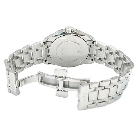 TISSOT(티쏘) T035.210.11.011.00 COUTURIER (꾸뛰리에) 쿼츠 데이트 스틸 여성용 시계 이미지4 - 고이비토 중고명품