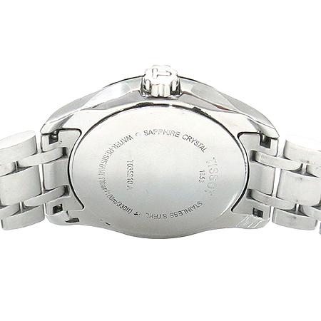 TISSOT(티쏘) T035.210.11.011.00 COUTURIER (꾸뛰리에) 쿼츠 데이트 스틸 여성용 시계 이미지5 - 고이비토 중고명품