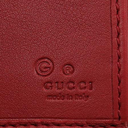 Gucci(구찌) 231837 이니셜 실버 메탈 버클 GG로고 시마 레더 장지갑