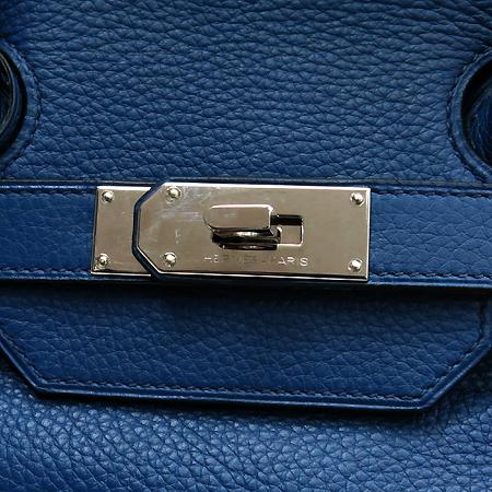 Hermes(에르메스) 숄더 벌킨 42 사이즈 끌레망스 로얄블루 컬러 은장 숄더백