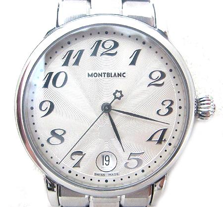 Montblanc(몽블랑) 7249 스타(STAR) 라운드 스틸 남성용 시계 [분당매장] 이미지2 - 고이비토 중고명품