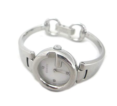 Gucci(구찌) YA134504 GUCCISSIMA(구찌씨마) 자개판 스틸 여성용 시계 [분당매장]