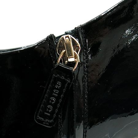Gucci(구찌) 225577 페이던트 블랙 짚업 앵클 부츠