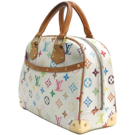 Louis Vuitton(루이비통) M92663 모노그램 멀티 화이트 트루빌 토트백[인천점]