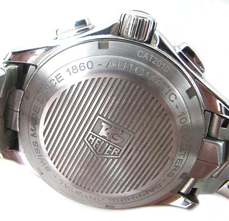 Tag Heuer(태그호이어) CAT2010 LINK(링크) 크로노그래프 오토매틱 스틸 남성용 시계 [분당매장]