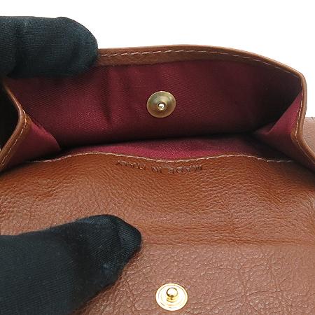 Etro(에트로) 그레이 레더 스티치 동전수납 남성 반지갑 [동대문점] 이미지6 - 고이비토 중고명품