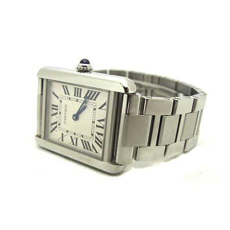 Cartier(까르띠에) W5200013 탱크 솔로 S사이즈 스틸 여성용 시계 [부천 현대점]