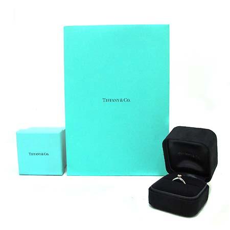 Tiffany(티파니) PT950 (플래티늄) 0.21 캐럿 I컬러 SI1 다이아 웨딩 반지 8호 [부천 현대점]
