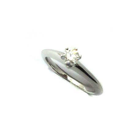 Tiffany(티파니) PT950 (플래티늄) 0.21 캐럿 I컬러 SI1 다이아 웨딩 반지 8호 [부천 현대점] 이미지2 - 고이비토 중고명품