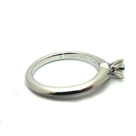 Tiffany(티파니) PT950 (플래티늄) 0.21 캐럿 I컬러 SI1 다이아 웨딩 반지 8호 [부천 현대점] 이미지3 - 고이비토 중고명품