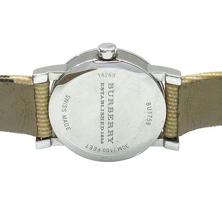 Burberry(버버리) BU1759 노바 체크 PVC 밴드 여성용 시계