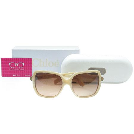 Chloe(끌로에) CL2173 아이보리 컬러 뿔테 선글라스