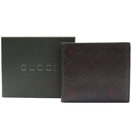 Gucci(구찌) 146223 GG 로고 시마 레더 반지갑[부천 현대점]