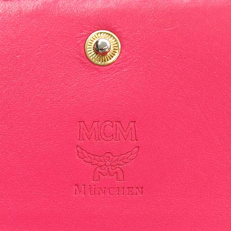 MCM(엠씨엠) MYL1AVC01PK001 금장 로고 장식 비세토스 여성용 장지갑