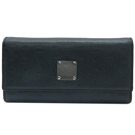 MCM(엠씨엠) MYL0AIE1EC001 은장 로고 장식 여성용 장지갑