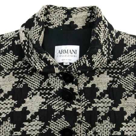 Armani COLLEZIONI(아르마니 꼴레지오니) 하운드투스 패턴 자켓 이미지2 - 고이비토 중고명품