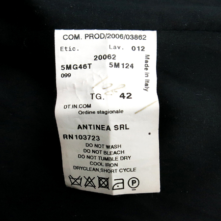Armani COLLEZIONI(아르마니 꼴레지오니) 하운드투스 패턴 자켓