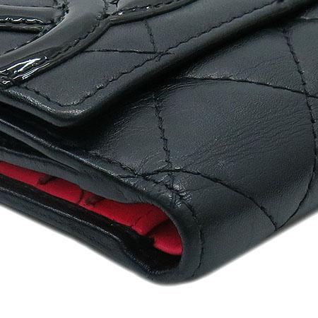 Chanel(샤넬) A50099Y03880 C2054 깜봉 S사이즈 블랙 로고 스티치 더블 반지갑 [명동매장] 이미지6 - 고이비토 중고명품