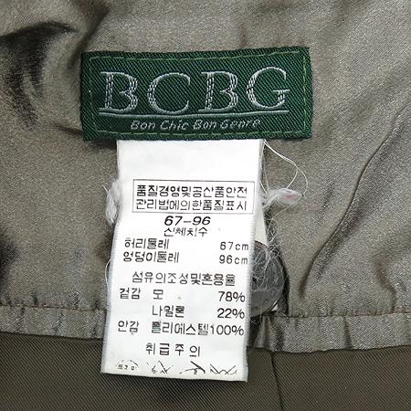 BCBG(비씨비지) 브라운컬러 체크 스커트