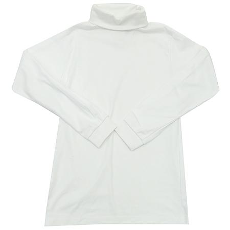 Elderwear we care 아동용 화이트컬러 폴라 티 (MADE IN U.S.A)