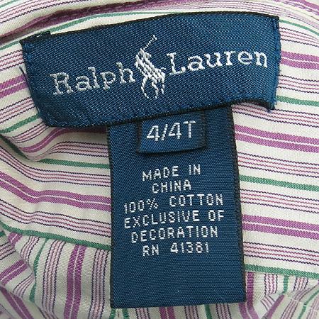 Polo Ralphlauren(폴로) 아동용 스트라이프 남방 이미지4 - 고이비토 중고명품
