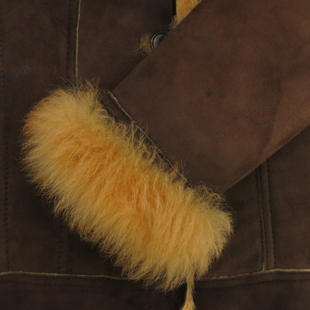 MOJO.S.PHINE(모조에스핀) 브라운컬러 양털 무스탕 자켓 이미지3 - 고이비토 중고명품
