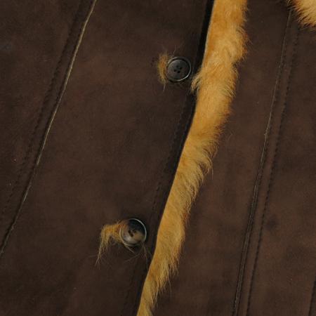 MOJO.S.PHINE(모조에스핀) 브라운컬러 양털 무스탕 자켓 이미지4 - 고이비토 중고명품