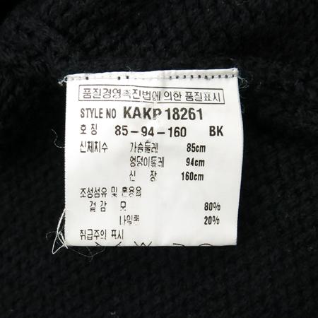 KUHO(구호) 블랙컬러 니트 이미지5 - 고이비토 중고명품