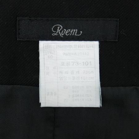 ROEM(로엠) 블랙컬러 스커트 이미지4 - 고이비토 중고명품