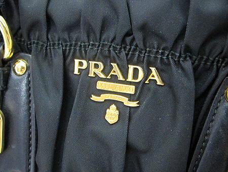 Prada(프라다) BN1407 블랙 패브릭 고프레 2WAY [분당매장] 이미지4 - 고이비토 중고명품