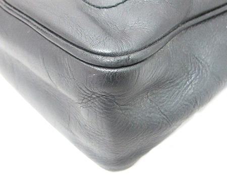Bally(발리) TAPRUS 블랙 레더 삼색스티치 서류가방 토트백 [분당매장]