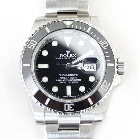 Rolex(로렉스) 116610LN 서브마리너 블랙 베젤 스틸 남성용 시계 [명동매장]