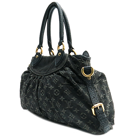 Louis Vuitton(루이비통) M95351 모노그램 데님 블랙 네오캐비 MM 2WAY