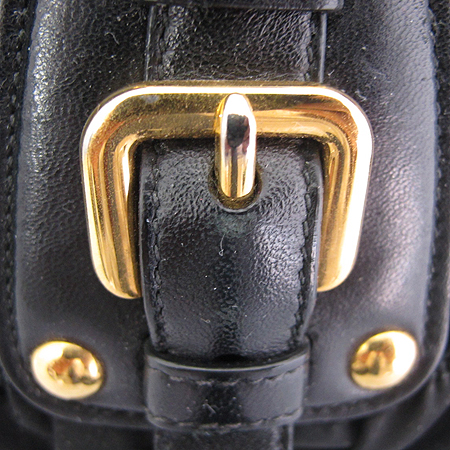 Prada(프라다) BN1407 블랙 패브릭 고프레 2WAY [동대문점]