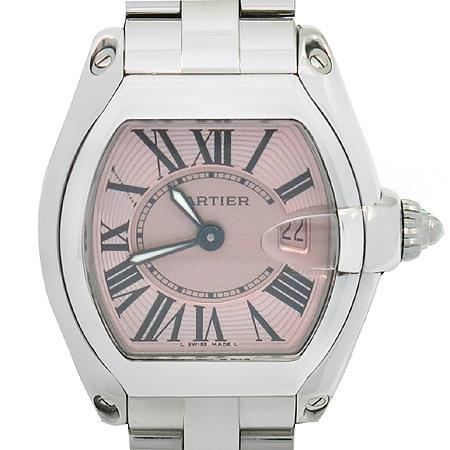 Cartier(까르띠에) W62017V3 로드스터 핑크판 스틸 여성용시계 [명동매장]