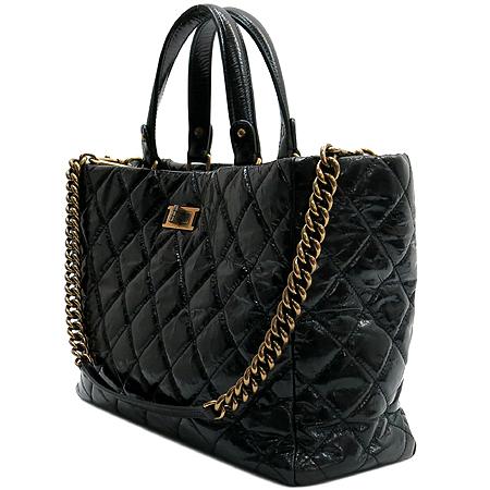 Chanel(샤넬) 2.55 빈티지 블랙 레더 2WAY [압구정매장] 이미지3 - 고이비토 중고명품